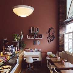 Photo taken at Sylvia's Corner Coffee House by Julia P. on 4/4/2015