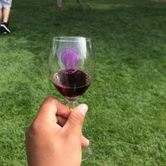 Photo taken at The Winery at Holy Cross Abbey by Andrew C. on 5/26/2014
