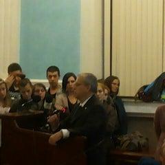 Photo taken at Universitatea din Craiova by Mihai G. on 10/10/2014