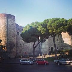 Photo taken at Castello Ursino by Juergen S. on 7/28/2013