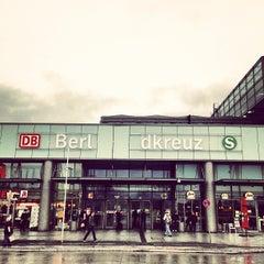Photo taken at Bahnhof Berlin Südkreuz by Tillmann A. on 2/4/2013