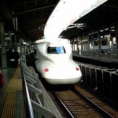 Photo taken at JR 名古屋駅 新幹線ホーム by Mitsugi(貢) K. on 12/4/2012