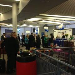 Photo taken at Gate B18 by Sara H. on 12/19/2012