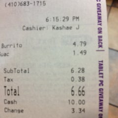 Photo taken at Taco Bell by Stephanie K. on 1/6/2013