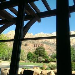 Photo taken at Best Western Zion Park Inn by Yury T. on 5/6/2014