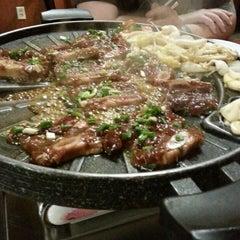 Photo taken at Hon Korean Restaurant by Hoku S. on 4/19/2015