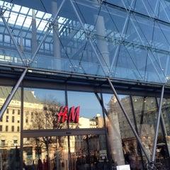 Photo taken at H&M by Tajma T. on 3/7/2015