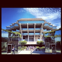 Photo taken at Geisel Library by Helen H. on 8/28/2012
