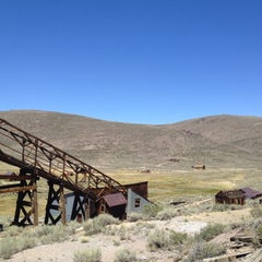 Photo taken at Bodie, CA by Jake M. on 7/26/2012