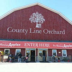 Photo taken at County Line Orchard by Houseful o. on 9/24/2012