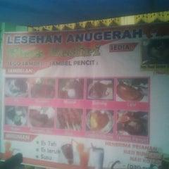 Photo taken at Pecel Lesehan Sepanjang by Octa P. on 8/16/2014