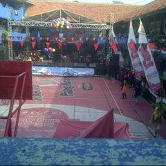 Photo taken at SMP Negeri 1 Surabaya by naznin i. on 6/12/2014