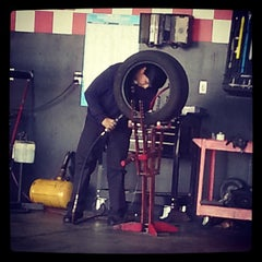 Photo taken at Tire Works by Kina F. on 5/9/2014