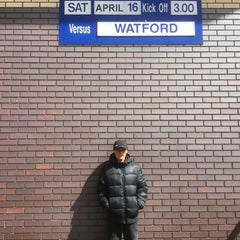 Photo taken at The Hawthorns by Martin H. on 4/16/2016
