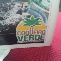 Photo taken at Churrascaria Coqueiro Verde by Erick Victor M. on 3/17/2013