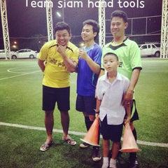 Photo taken at Boy Tarprajun FC by Konddd v. on 12/12/2013