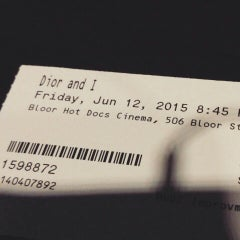Photo taken at The Bloor Hot Docs Cinema by Anna I. on 6/13/2015