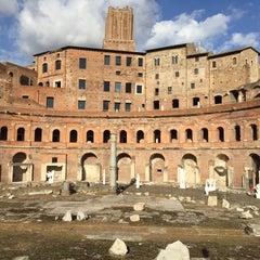 Photo taken at Mercati di Traiano by John R. on 10/8/2015