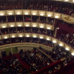 Photo taken at Wiener Staatsoper by Elena D. on 12/1/2012