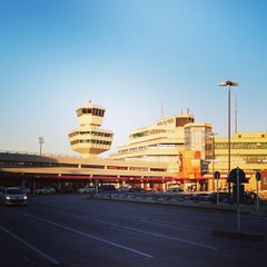 Photo taken at Flughafen Berlin-Tegel Otto Lilienthal by Yousef H. on 6/5/2013