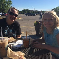 Photo taken at Caribou Coffee by Greg E. on 6/16/2014
