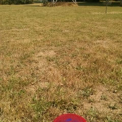 Photo taken at Timber Disc Golf Park by Sally W. on 8/10/2014