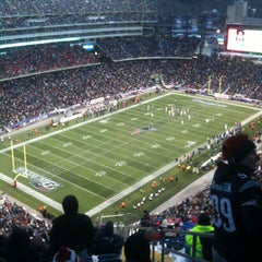 Photo taken at Gillette Stadium by William K. on 12/30/2012
