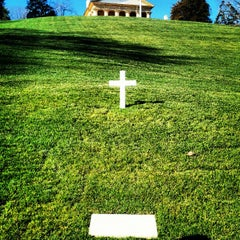 Photo taken at Edward Ted Kennedy Grave by patrick n. on 1/20/2013