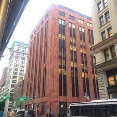 Photo taken at NYU Meyer Hall by Alexander Y. on 2/1/2016