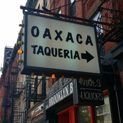Photo taken at Oaxaca Taqueria by René S. on 6/3/2014