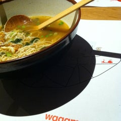 Photo taken at Wagamama by Annko T. on 3/25/2013