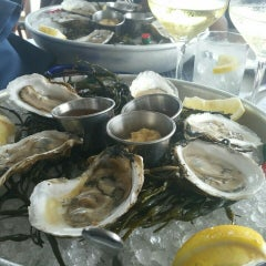 Photo taken at Atlantic Fish And Chop House by LifeByZen on 8/23/2015