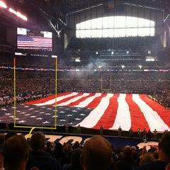 Photo taken at Lucas Oil Stadium by Manuel M. on 12/30/2012