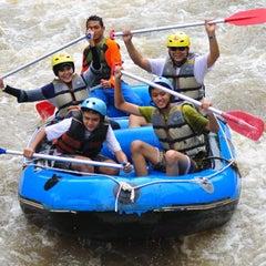 Photo taken at Kasembon Rafting by Dewi P. on 1/6/2013