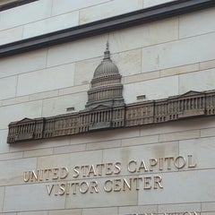Photo taken at United States Capitol Visitors Center by Joseph L. on 1/17/2013