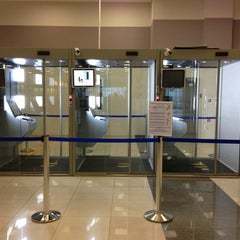 Photo taken at Паспортный контроль / Passport Control (E) by Maxim on 9/21/2013