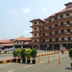 Photo taken at Cochin International Airport (COK) by Prashant G. on 3/13/2013