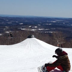 Photo taken at Carinthia Parks at Mount Snow by John on 4/6/2013