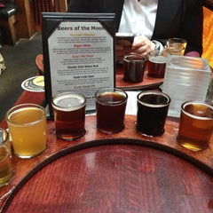 Photo taken at Harvest Moon Brewery by Ken T. on 4/17/2013