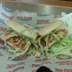 Photo taken at Penn Station East Coast Subs by Nick M. on 10/19/2012