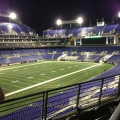 Photo taken at M&T Bank Stadium by Alex S. on 4/21/2013