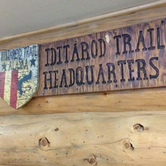Photo taken at Iditarod Race Headquarters by Sarah D. on 2/27/2014