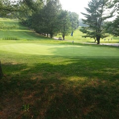 Photo taken at Newton Commonwealth Golf Course by Andrew E. on 7/25/2014