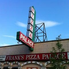 Photo taken at Frank's Pizza Palace by Rick K. on 7/3/2013