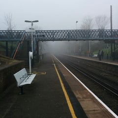Photo taken at Fulwell Railway Station (FLW) by zbynda s. on 3/13/2014