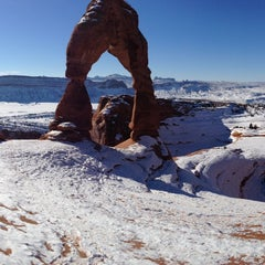 Photo taken at Arches National Park by chris w. on 1/17/2013