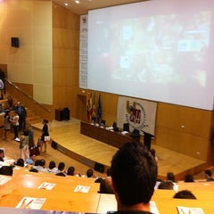 Photo taken at Aula Magna by Sergio M. on 9/25/2012