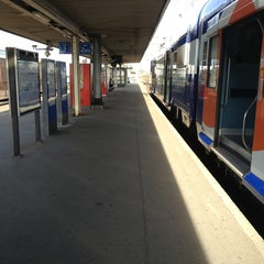 Photo taken at Gare SNCF de La Verrière by Seby R. on 9/1/2013
