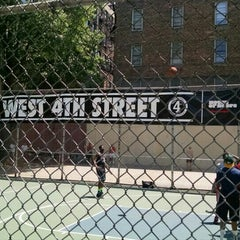 Photo taken at West 4th Street Courts (The Cage) by NYC E. on 7/10/2015
