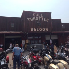 Photo taken at Full Throttle Saloon by Curtis C. F. on 8/4/2014